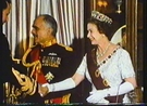 Queen Elizabeth and King Hussein