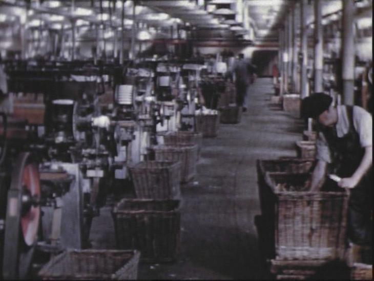 1950s Lancashire Cotton Mill