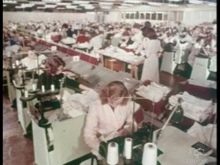 Women at Sewing Machines, 1950s