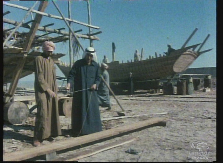 Traditional Boat Building in UAE