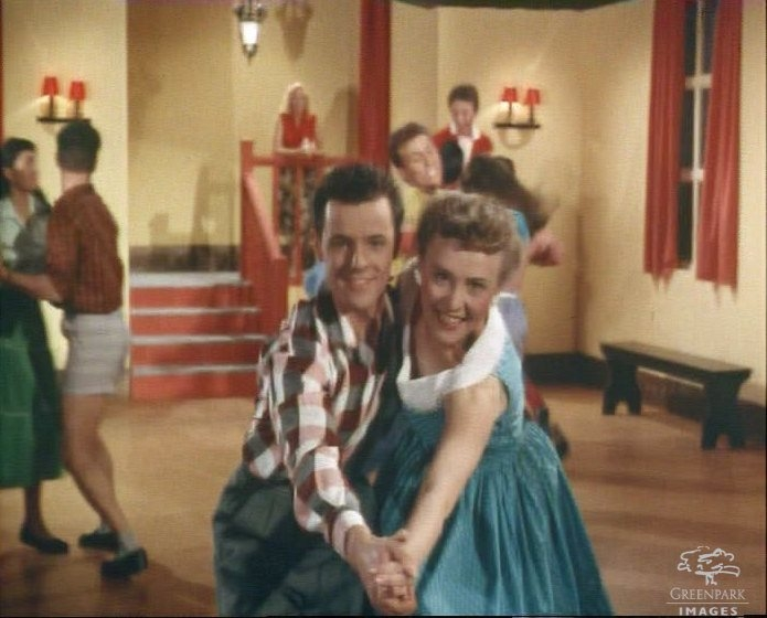 Young people jiving (1950s)