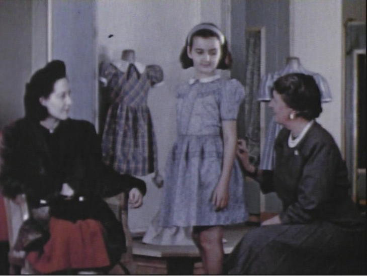 1950s Child's dress