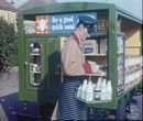 1960 Milkman with milk float